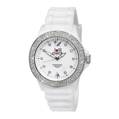 Armbanduhr LOLLICLOCK-CRYSTAL-weiß