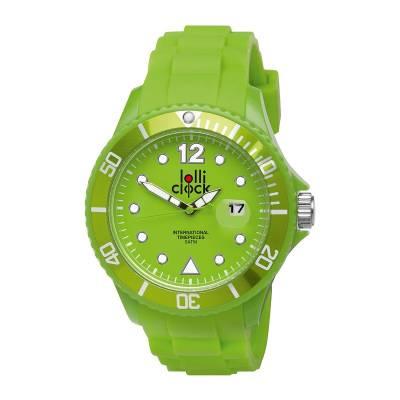 Armbanduhr LOLLICLOCK-DATE-grün(hellgrün)