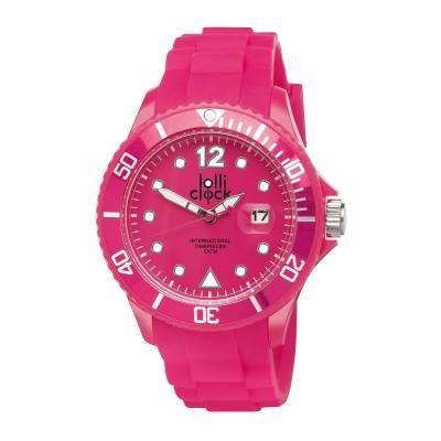 Armbanduhr LOLLICLOCK-DATE-pink(magenta)