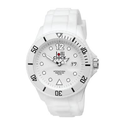 Armbanduhr LOLLICLOCK-DATE-weiß