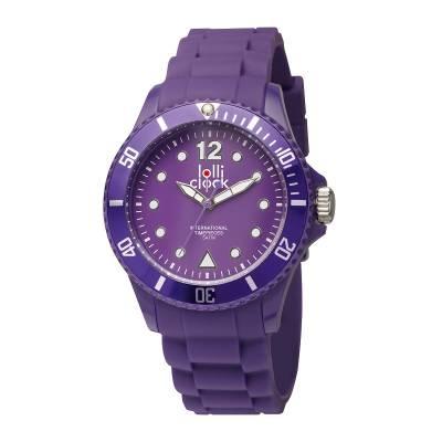 Armbanduhr LOLLICLOCK--lila