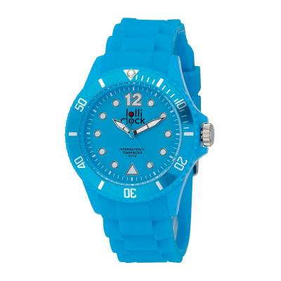 Armbanduhr LOLLICLOCK--blau(hellblau)