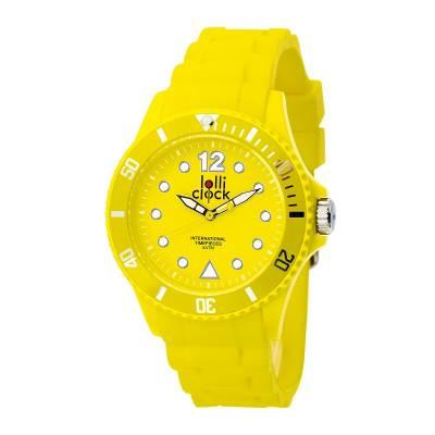 Armbanduhr LOLLICLOCK--gelb