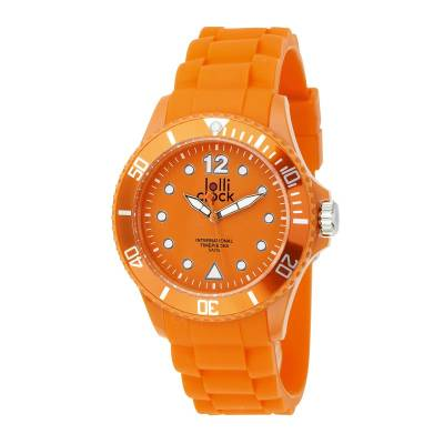 Armbanduhr LOLLICLOCK--orange