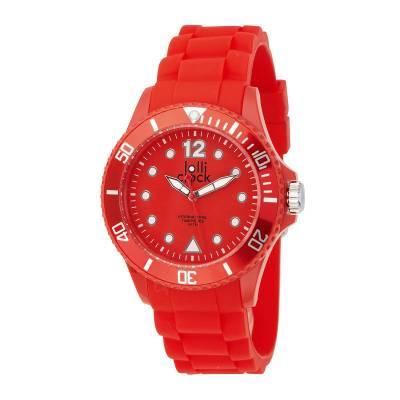 Armbanduhr LOLLICLOCK--rot