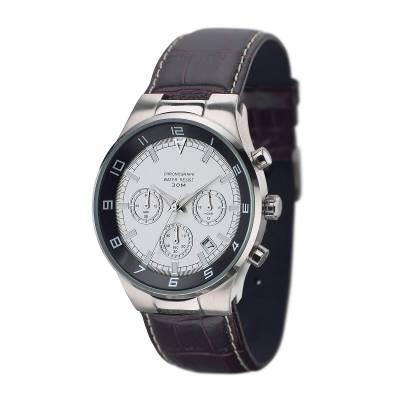 Armbanduhr REFLECTS-CHRONO-weiß