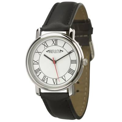 Armbanduhr REFLECTS-TREND-schwarz