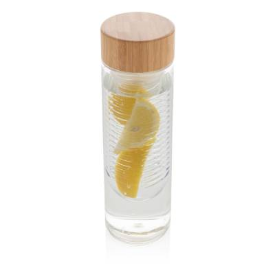 Aromaflasche mit Bambusdeckel-transparent