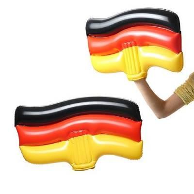 Aufblasbare Winkeflagge - mehrfarbig - Variante I