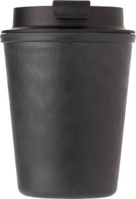 Auslaufsicherer Kaffeebecher Columbia aus Kunststoff