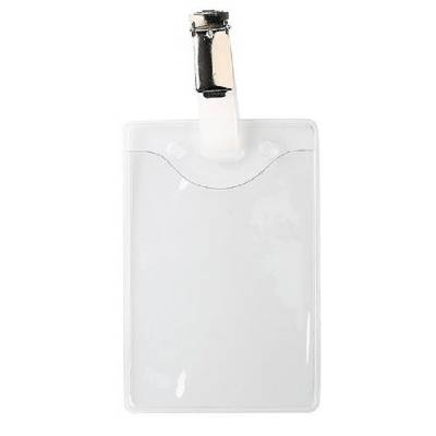 Ausweishülle Softplastik mit Clip