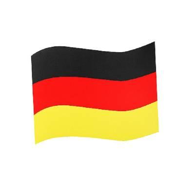 Automagnet Flagge mittel