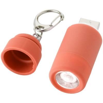 Avior wiederaufladbares USB Schlüssellicht-rot