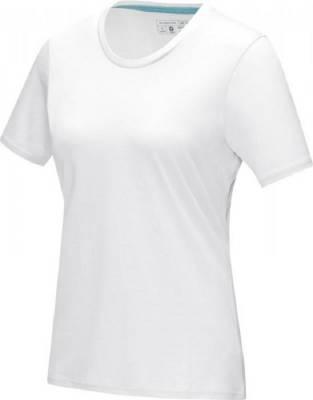 Azurite T-Shirt aus GOTS Bio-Material für Damen-weiß-XS