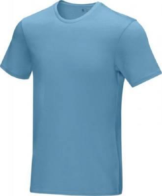 Azurite T-Shirt aus GOTS Bio-Material für Herren-blau(hellblau)-XXL