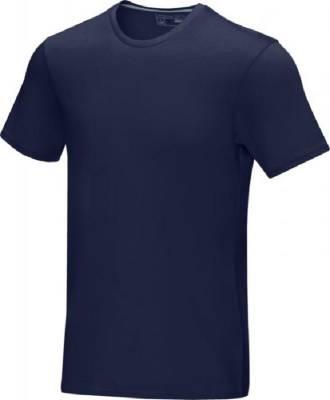 Azurite T-Shirt aus GOTS Bio-Material für Herren-blau(navyblau)-XS