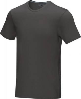 Azurite T-Shirt aus GOTS Bio-Material für Herren-grau-XL