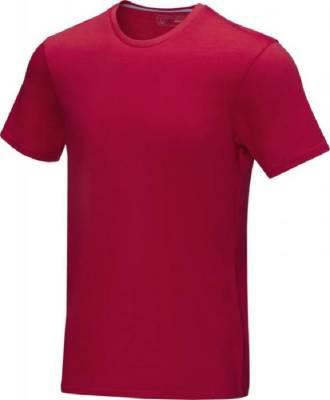Azurite T-Shirt aus GOTS Bio-Material für Herren-rot-XS