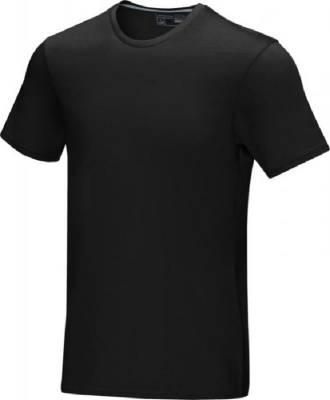 Azurite T-Shirt aus GOTS Bio-Material für Herren-schwarz-S