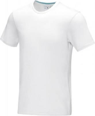 Azurite T-Shirt aus GOTS Bio-Material für Herren-weiß-XXXL