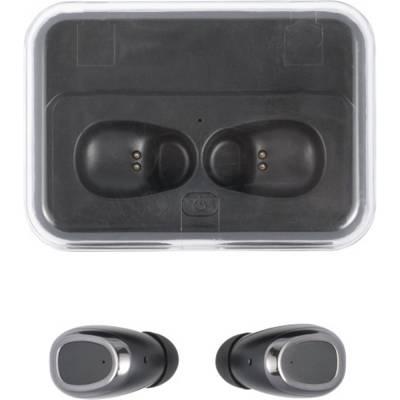 BT-Wireless Kopfhörer Detroit mit Powerbank aus Kunststoff-schwarz-2000 mAh