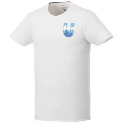 Balfour Öko T-Shirt für Herren-weiß-XS