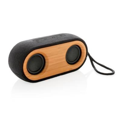 Bamboo X doppelter Lautsprecher-schwarz