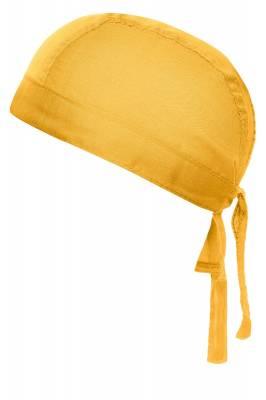 Bandana Hut Abby-gelb-one size-unisex