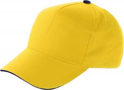 Baseball-Cap Jürmala-gelb-one size