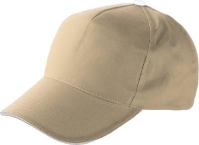 Baseball-Cap Jürmala-braun(hellbraun)-one size