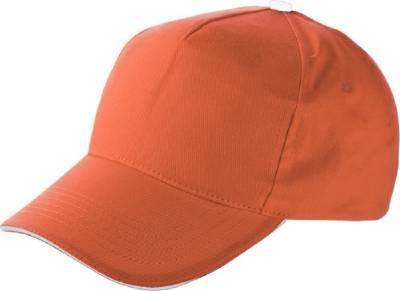 Baseball-Cap Jürmala-orange-one size