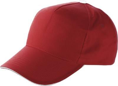 Baseball-Cap Jürmala-rot-one size