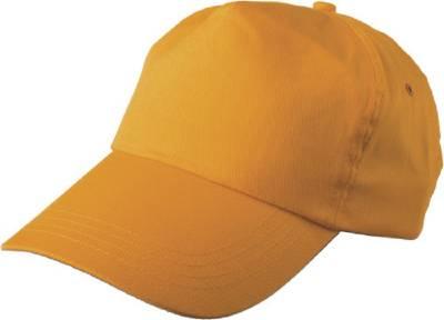 Baseballcap Olaine-orange-one size