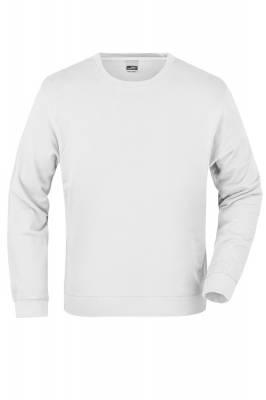 Basic Sweater JN057-weiß-S