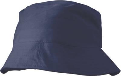 Baumwoll-Sonnenhut Odivelas-blau-one size