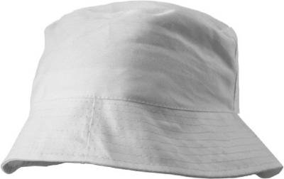 Baumwoll-Sonnenhut Odivelas-weiß-one size