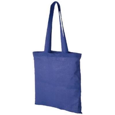 Baumwoll-Tragetasche - blau