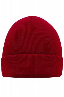 Beanie Chaise-rot(weinrot)-one size-unisex