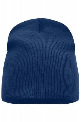 Beanie No.1-blau(navyblau)-one size-unisex
