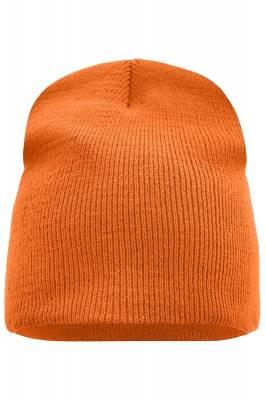 Beanie No.1-orange-one size-unisex