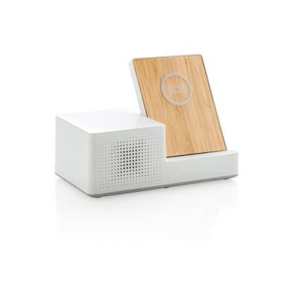 Birch 5W Wireless Charger und Lautsprecher