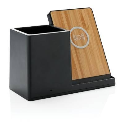 Birch 5W Wireless Charger und Stiftehalter
