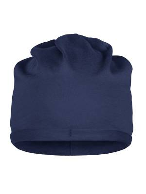 Blain modischer Beanie aus Biobaumwolle-blau(navyblau)-one s
