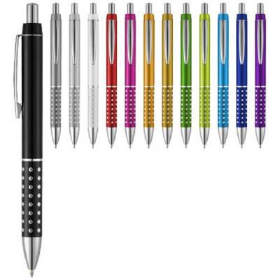 Bling Kugelschreiber-lila-blaue Mine