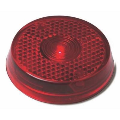 Blinklicht Dormagen mit Clip-rot