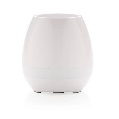 Blumentopf Lautsprecher- weiß