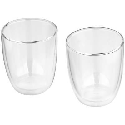 Boda 2 teiliges Glas Set-transparent