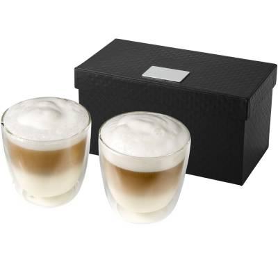 Boda 2 teiliges Kaffee Set-transparent