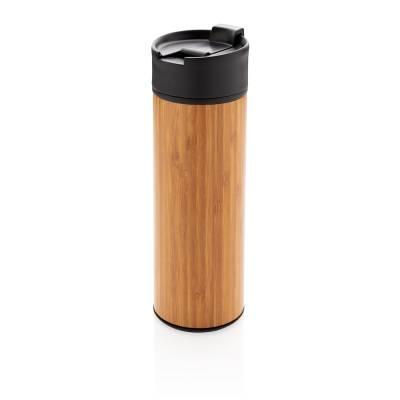 Bogota Vakuum Bambus Becher-braun