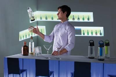 Bopp Cool Flasche - grau